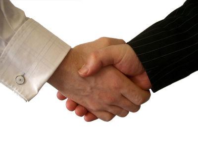 conciliación imagen. manos